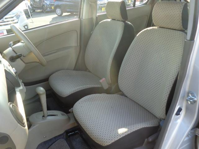 ゆったりと運転できるシート!!