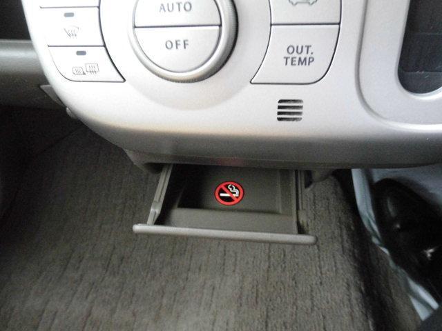 禁煙車なので灰皿は使用していません。