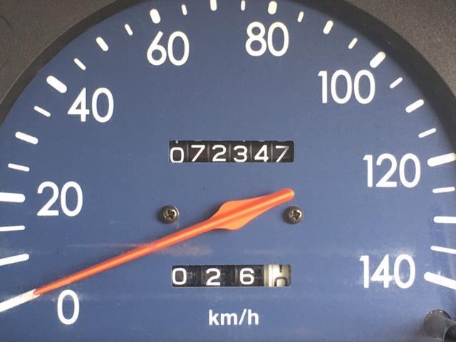 走行距離7.2万キロ台!まだまだ走ります♪