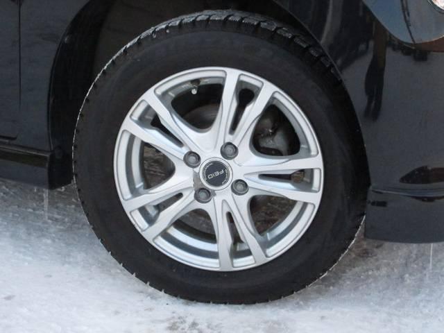 ☆冬タイヤ画像です☆155/65R65 社外14インチアルミホイールです。