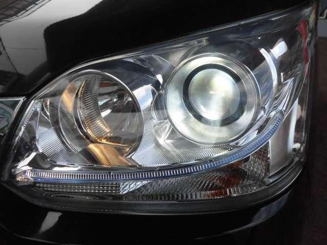 大光量で省電力のHID!明るく夜道を照らしますので安心です!