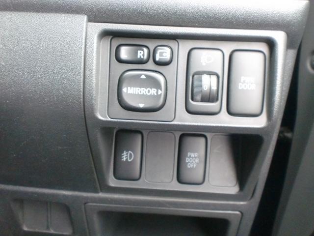 自動ドア付き、ボタン長押しで開閉出来ます!