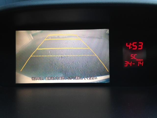 駐停車に活躍するバックカメラもしっかり装備されていますッ!