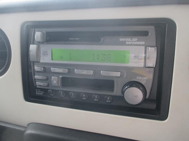 スズキジムニーの純正CD・MD・カセットコンポ付き!