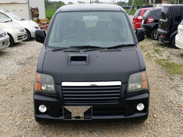 ☆スズキ・ワゴンR☆RR・4WD・AT入庫しました!! 人気のブラックです!! HIDヘッドライトついております!! エンジンミッション機関良好です!!