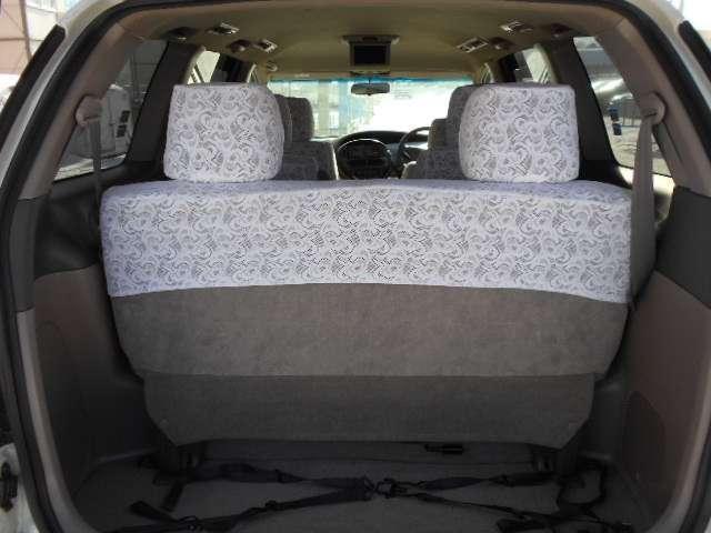 荷物はもちろん車椅子もきちんと収納できるスペースがあります。
