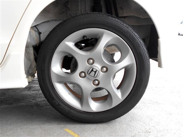 タイヤとホイールも洗浄・コート済です!