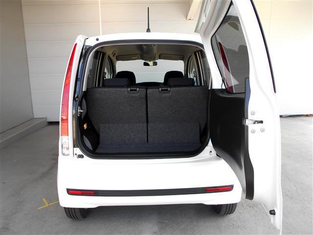 荷物をのせるスペースも確保されています。