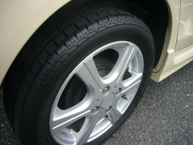 タイヤは6分山です。