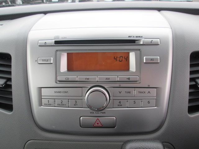 CD+AM/FMラジオです★純正オーディオは音が悪い?ぜひ、ご自身でお確かめ下さい♪ 夜間は、液晶画面がきれいに見えますよ(^^)