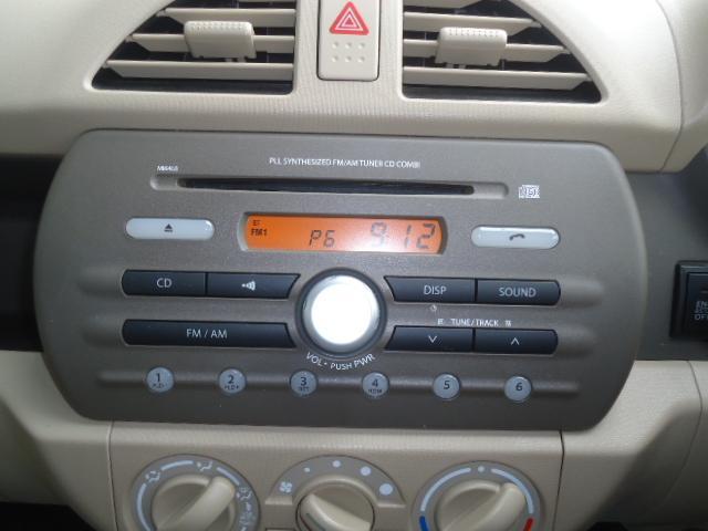 純正CDプレイヤー付き!当店ではカーナビやETCなどのカー用品のお取り付けもできますのお気軽にご相談ください!