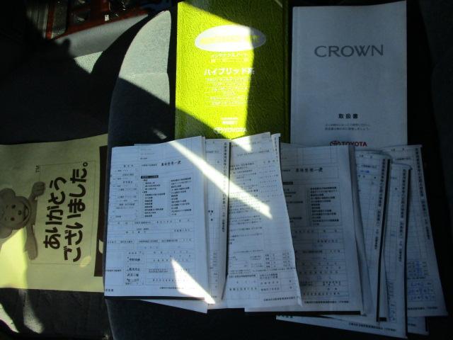 トヨタ クラウン スーパーDX Mハイブリッド 法人ワンオ-ナ-車 Fミラー