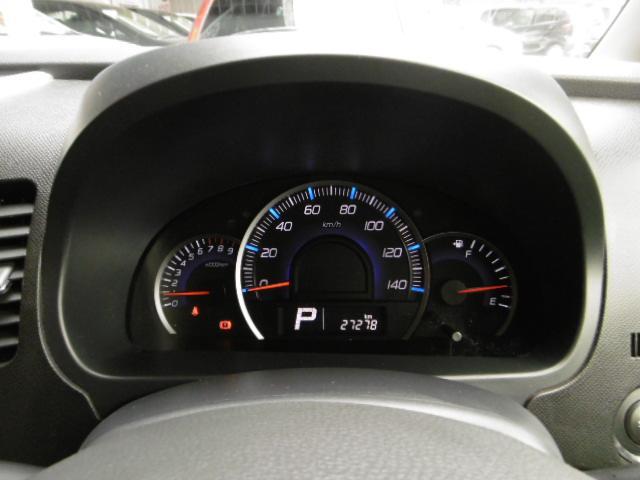 高級感溢れる自発光式のスピードメーター!タコメーター&燃費計がエコドライブをアシストします!