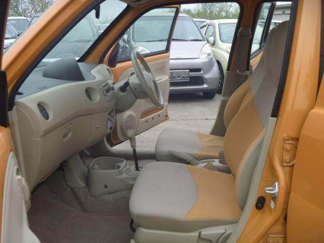 座り心地も良く運転が楽ですよ!