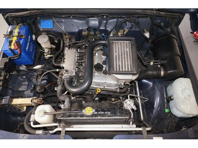 K6Aインタークーラーターボエンジン。タイミングチェーンなので、タイミングベルト交換不要です。