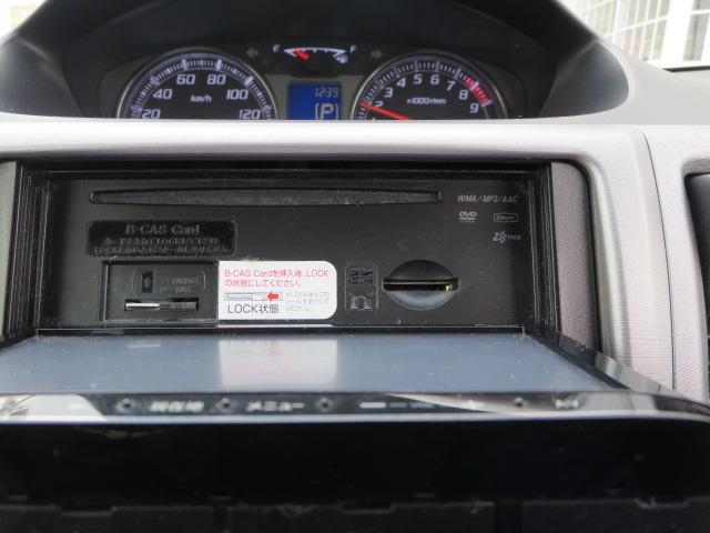 オーディオソースはCD・DVDビデオに地デジフルセグTVです。