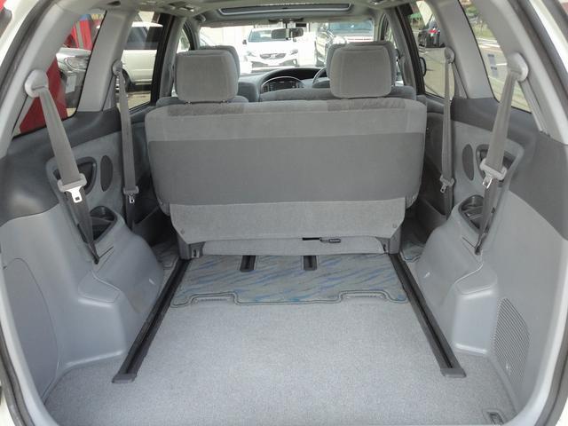 必要に応じて3列目シートを格納、荷室スペースも広がります。