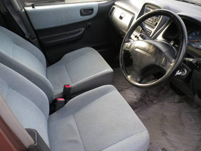 シートは座りやすく、ハンドルも軽く運転しやすいです☆