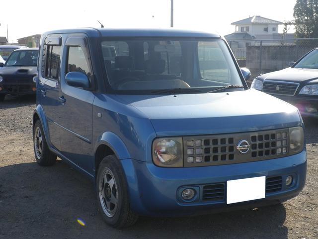 【色】ブルー  【年式】平成16年3月 【走行距離】8.9万km 【車検】2年付き
