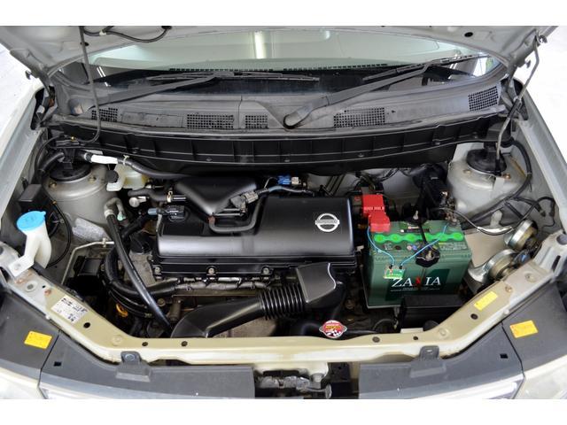 補機ベルト2本新品交換済みとなっております。タイミングチェーン採用エンジンなので走行10万キロを超えても安心です
