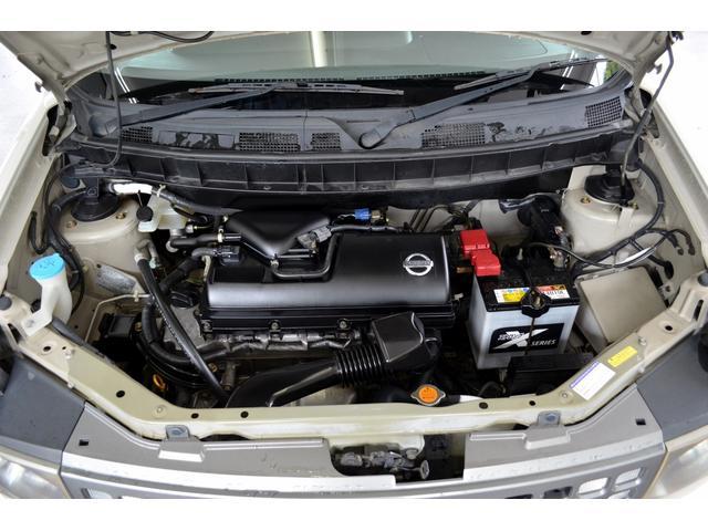 タイミングチェーン採用エンジンなので走行10万キロを超えても安心です