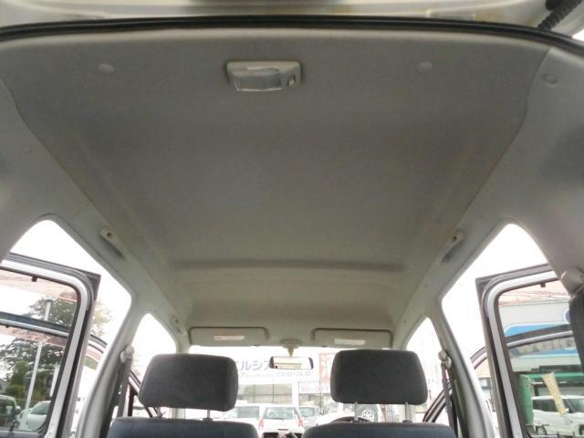 天井もきれいです。前のユーザーは禁煙者だったようです。
