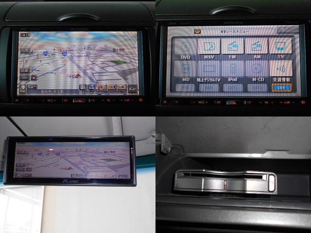 社外HDDナビ&ミラーモニター!ETCも装備です♪