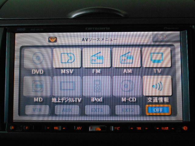 CD・DVD再生可・音楽サーバーも内臓のHDDナビです!