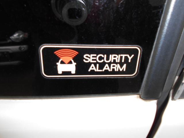 純正セキュリティーも装備です。