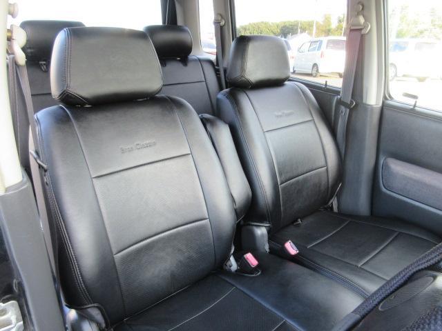 本革調シートカバー(運転席切れあり)