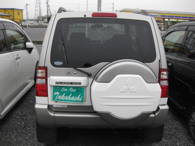 三菱 パジェロミニ VR ターボ 4WD