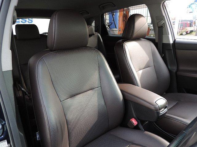 トヨタ マークXジオ 240G 禁煙車 HDDナビ フルセグ 革シート Sヒーター
