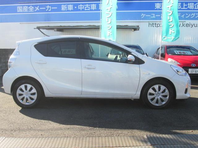 トヨタ アクア S スマトエントリーパック 禁煙車 CVT
