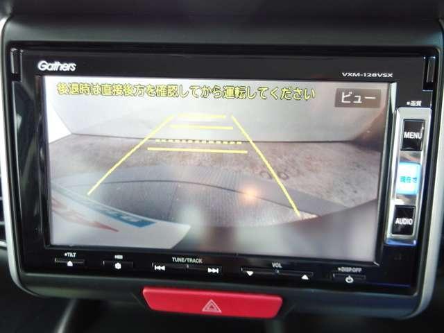 バック時に後方の安全を確認出来るリアカメラ装備しております。見えないって不安ですからね!