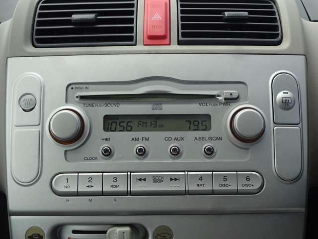 ライフに付いている純正オーディオはCDプレーヤーです。AM/FMチューナー付です。お好みの音楽を聞きながらのドライブは楽しさ倍増ですね♪