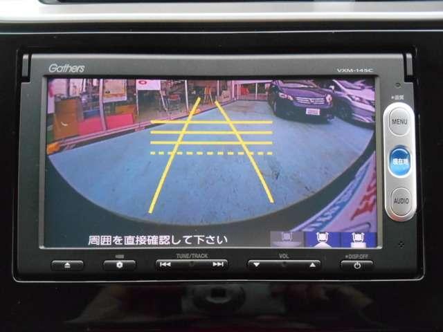 ホンダ フィット 13G・Fパッケージ 純正メモリーナビ リアカメラ