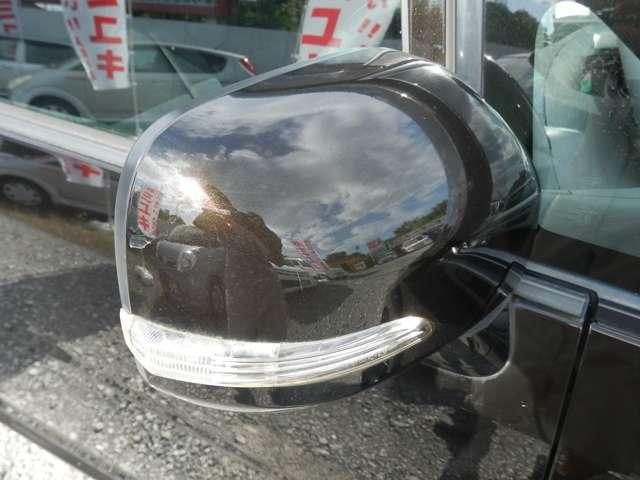 ウインカーは他の車両からも目に付きやすく安全性を高めます☆