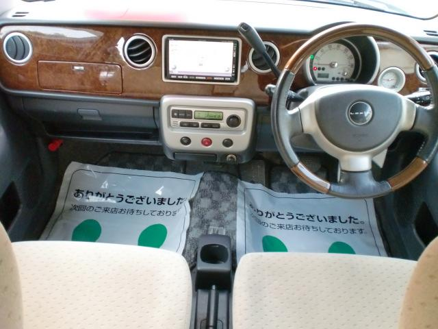 豪華な車内!