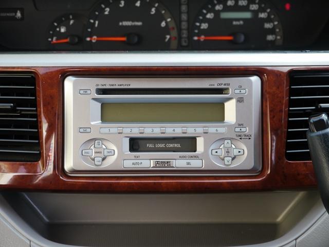 AMFMラジオ、CD、カセット再生、それぞれ現在良好に動作しております☆4スピーカーで中々音も良いですよ☆