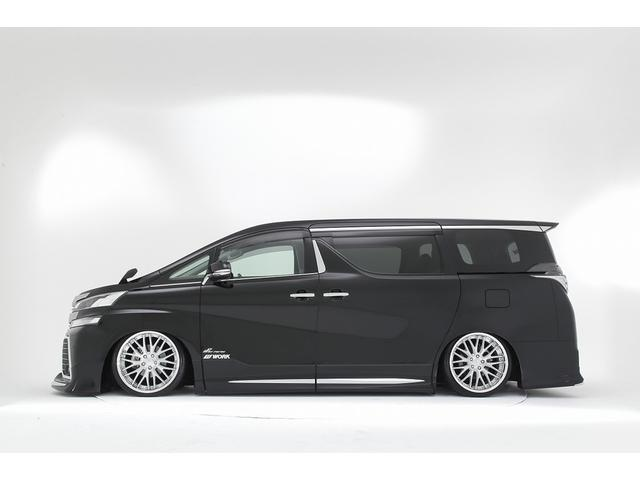 トヨタ ヴェルファイア 車高調機能付きエアサス&WORK20インチ カスタム車両