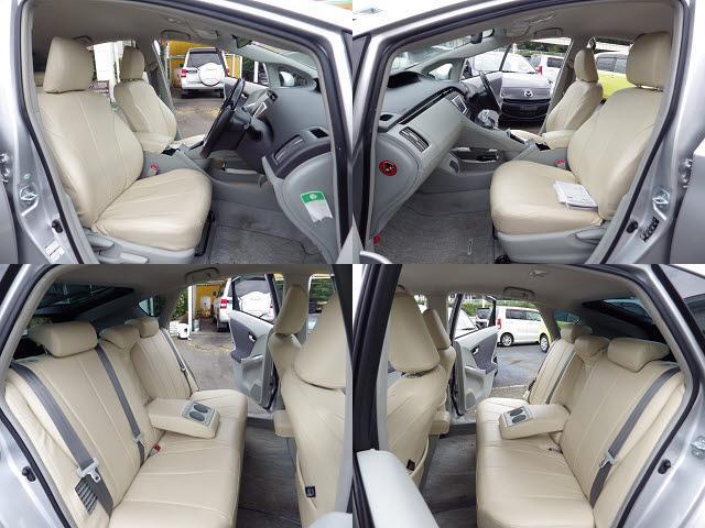 落ち着いたカラーとシンプルなデザインシートは、長く付き合えると思います。