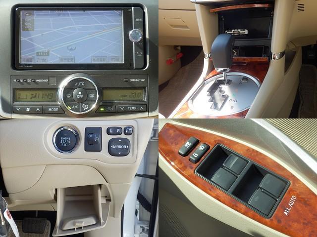 トヨタ プレミオ 2.0G ワンオーナー純正SD12セグRカメラETC