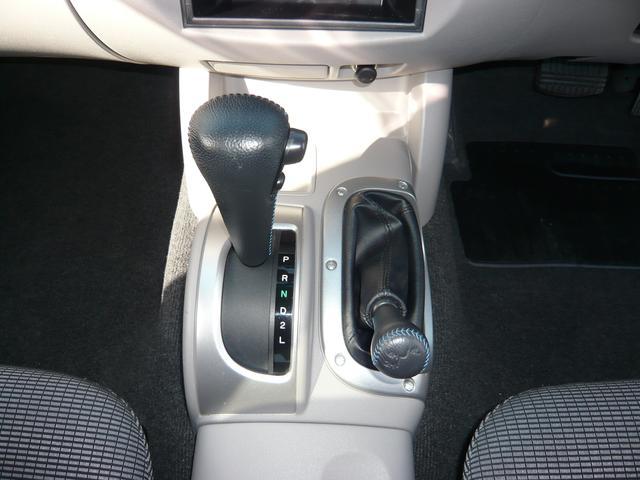 運転楽々のオートマ!2WD~4WDの切り替え可能なパートタイム4WD!
