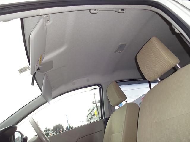 天井の汚れも無く綺麗です。車内はクリーニング済みなのです♪納車前にもメンテナンスさせて頂きます。