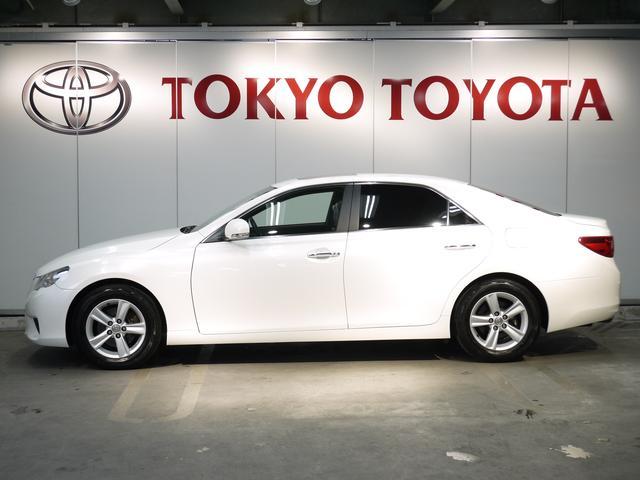 トヨタ マークX 250G リラックスセレクション 純正SDナビ サンルーフ