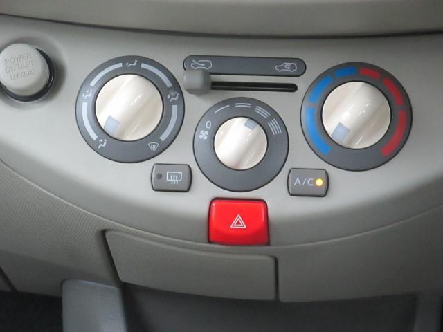 ボタンが大きく操作し易いなマニュアルエアコン♪