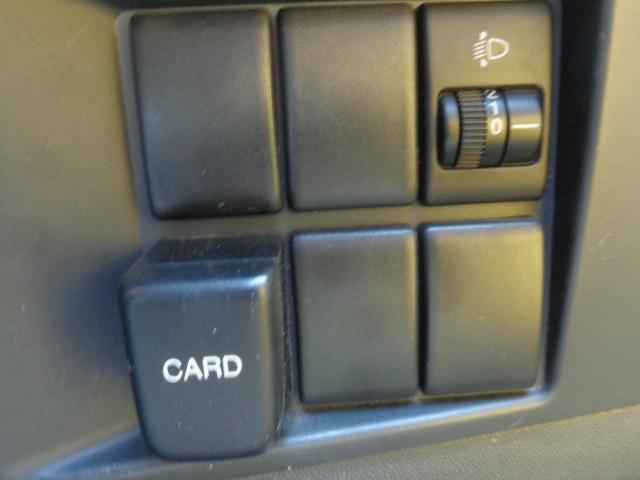 ヘッドライトの光軸調整が可能!!カードホルダーもついています!