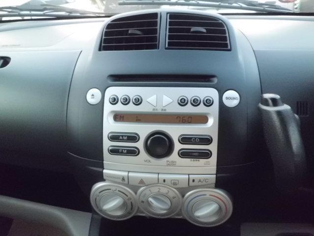 純正のCDとラジオですからね 操作が簡単です