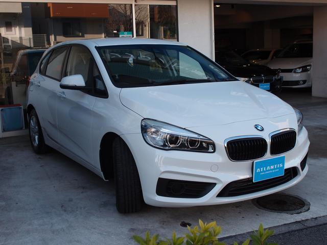 BMW BMW 218dアクティブツアラー 保証付 ナビ インテリセーフティ
