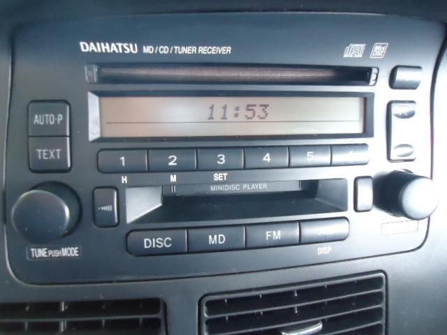 純正CDコンポ装着車輌です。